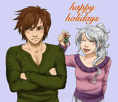 Happy Holidays 2010 by algy