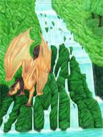 Emerald Falls by algy