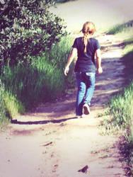 Walking Alone. by cristyThegreat
