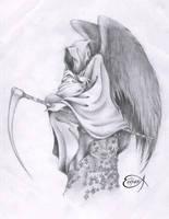 DeatH tattoo by EpHyGeNiA