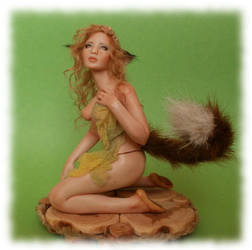 Fox Fairy 01 ooak by Rosen-Garden