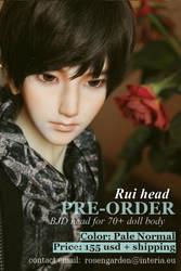 PRE-ORDER Rui head by Rosen-Garden