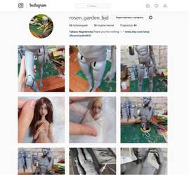 Instagram Rosen Garden BJD by Rosen-Garden