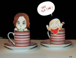 Amnesia tea party by Mafer
