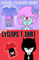 Kawaii Cyclops shirts by Mafer