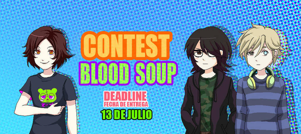 ART CONTEST/CONCURSO BLOOD SOUP by Mafer