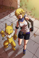 Pokemon adventure by Mafer