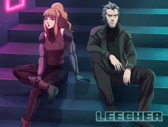LEECHER WEBCOMIC by Mafer