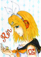 Rin Kagamine by RubyWing