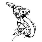 Shadowrun Microdrone by raben-aas