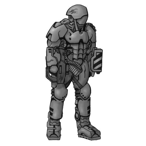 Shadowrun Milspec Armor by raben-aas