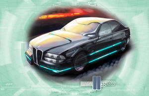 Shadowrun Schattenkatalog BMW Sedan Concept by raben-aas