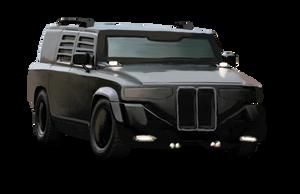 Shadowrun Humvee knockoff by raben-aas