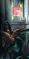 Shadowrun AGS Black Forest Freiburg by raben-aas