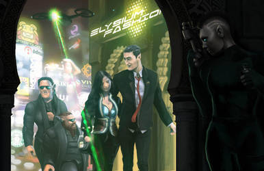 Shadowrun Extraction by raben-aas