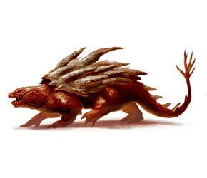 Aborea Fantasy Lizard Creature by raben-aas