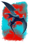 Aborea Flying Monster by raben-aas