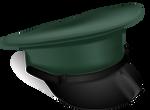 Military Cap - Gradient Mesh Practice by KarynRH