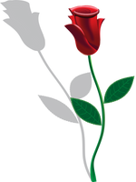 WIP - Stem Rose 1 - COMPLETED by KarynRH
