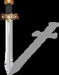 Xena's Sword, First Try by KarynRH