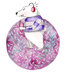 polar bear by voteforpralka