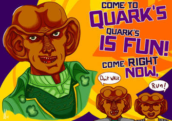 Quarks is FUN! by CaptainLeBuff