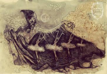 Captives of the Lake by anja-uhren