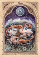 ZODIAC: Pisces by anja-uhren