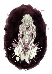 commission: broken heart by anja-uhren