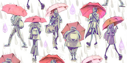 Umbrella Pattern by anja-uhren