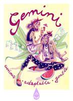Gemini girls by anja-uhren