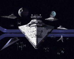Imperial Fleet Approaching 1 by 1darthvader