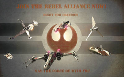 Rebel Alliance Propaganda by 1darthvader