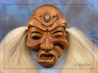 Twisted spirit mask view 2 by daleafraser