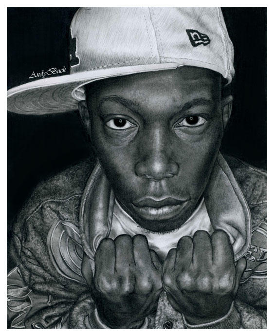 Dizzee Rascal: Commission by AndyBuck