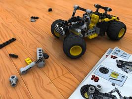 LEGO Buggy Scene by AndyBuck