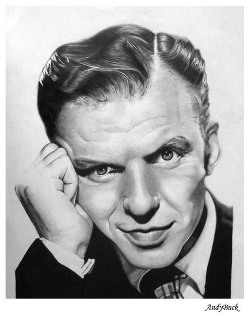 Frank Sinatra by AndyBuck