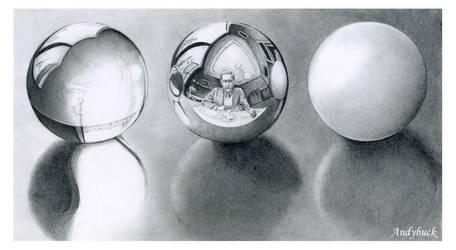Eschers Balls by AndyBuck