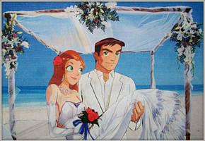 Sam Tim Scam Wedding by Cresenta-Lark