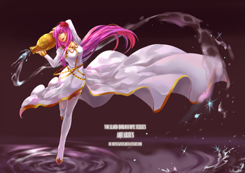 Aquarius - Megurine Luka by Mitsukiven
