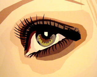 Golden Eye by LeannaReinhold