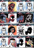 Marvel Masterpieces III Set 2 by RAHeight2002-2012
