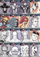 Marvel Masterpieces III Set 8 by RAHeight2002-2012