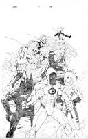 ICONS 1 Cover Pencils by RAHeight2002-2012