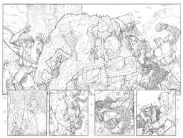Fearsome Four 3 PG 4-5 by RAHeight2002-2012