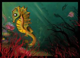 seahorse by saretta13