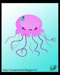 Jellyfish kawaii by saretta13