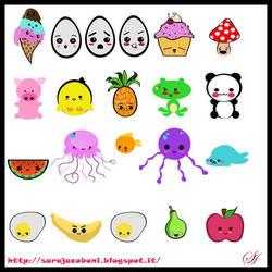 Kawaii Character Design ^__^ by saretta13