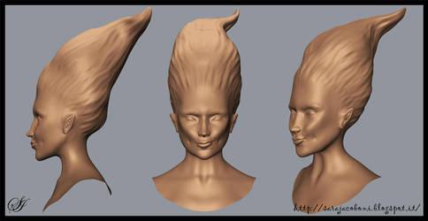 Wip_mermaid_digSculpting by saretta13