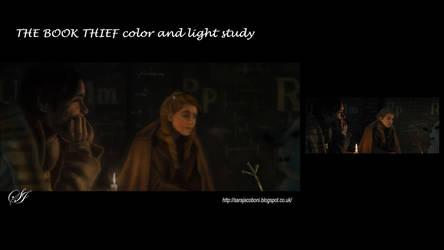 The Book Thief: Color andl Light study by saretta13